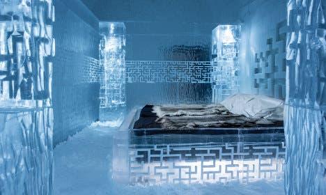 تختخواب یخی در یکی از اطاقهای هتل