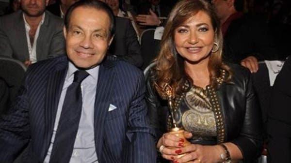ليلي علوي وزوجها السابق  منصور الجمال