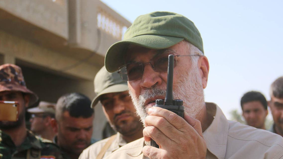 نائب قائد ميليشيا الحشد الشعبي أبو مهدي المهندس