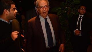 عمرو موسى الأمين العام السابق للجامعة العربية