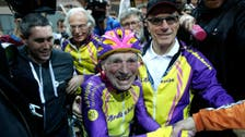 Pictures: Meet the 105-year-old Frenchman who just set a record for cycling