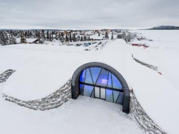 """شاهد.. """"فندق جليد"""" في السويد و50 ألف زائر سنوياً"""