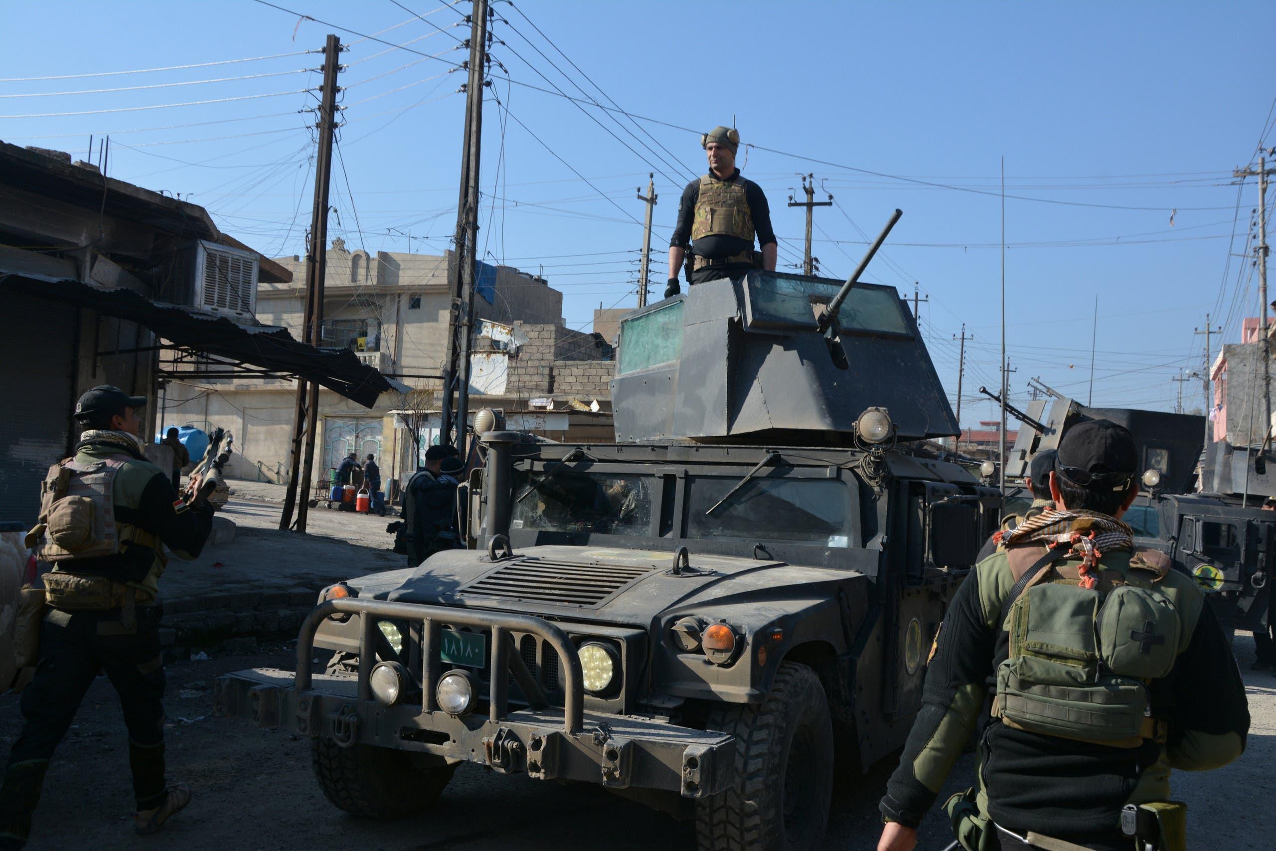 أفراد من القوات الخاصة العراقية