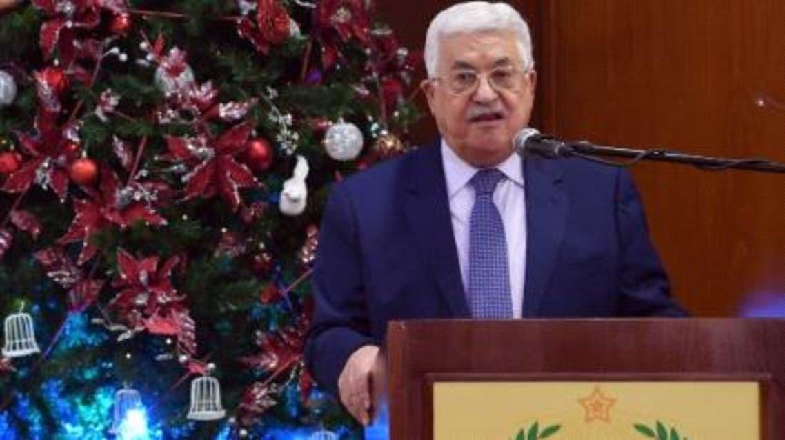 محمود عباس في بيت ساحور