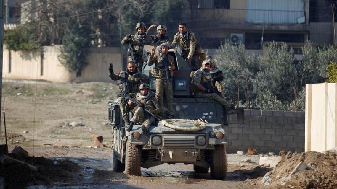 القوات العراقية تقدمت في شرق الموصل في حملة ليلية