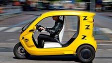 Swedish battery-powered 'tuk-tuk' to help beat traffic, pollution