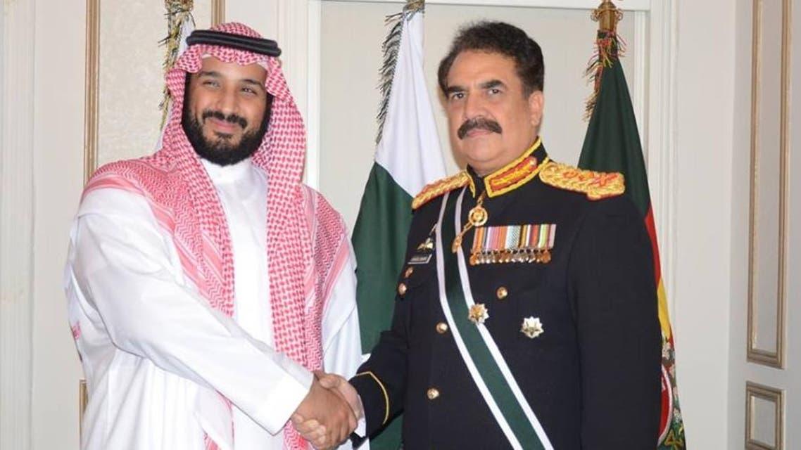 dy crown prince and general raheel
