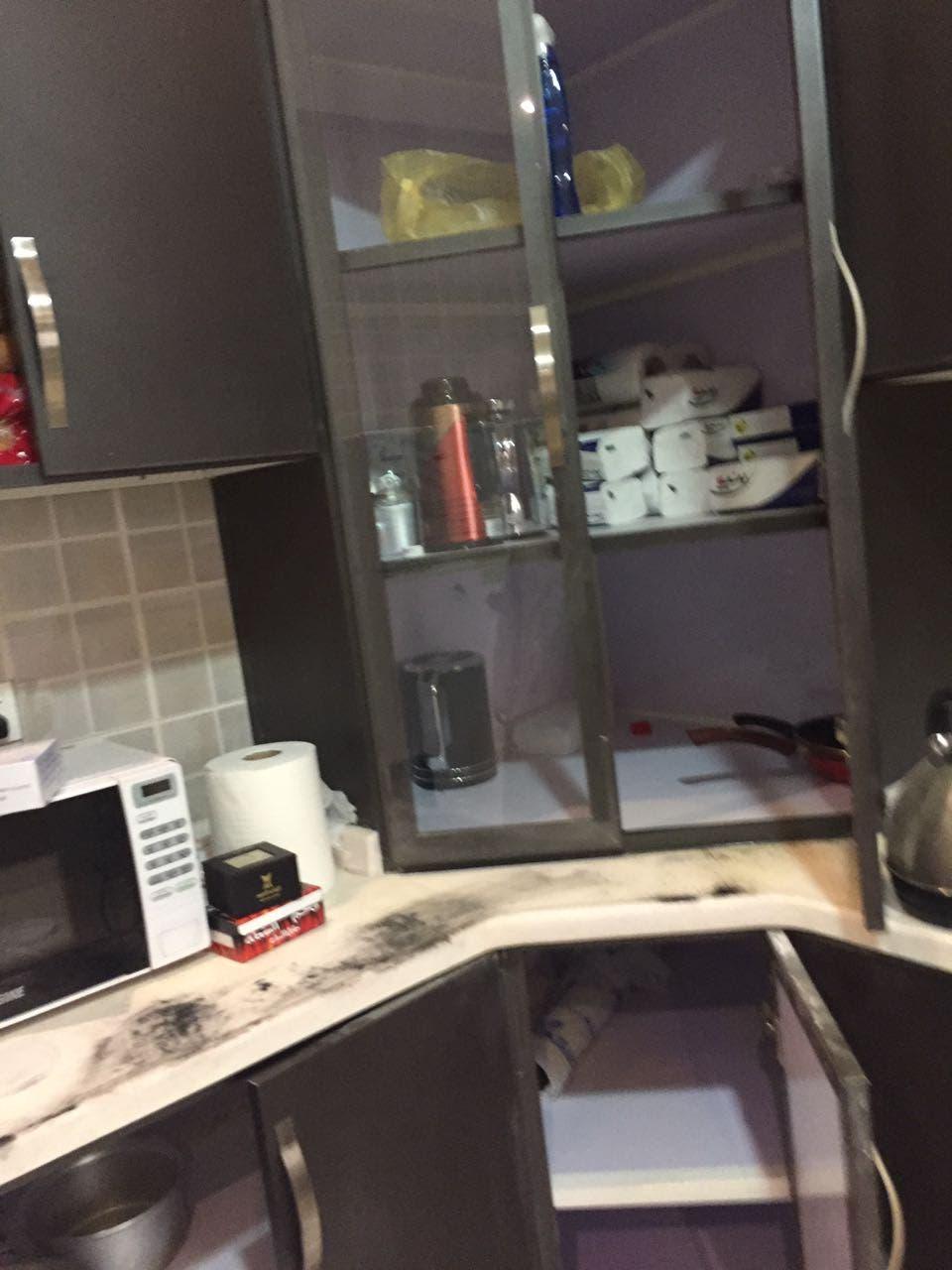 مطبخ منزل الإرهابيين