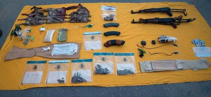 بعض ما عثروا عليه في المنزل الذي اتخذاه وكرا للإرهاب ويمكن استخدامه بصنع المواد المتفجرة