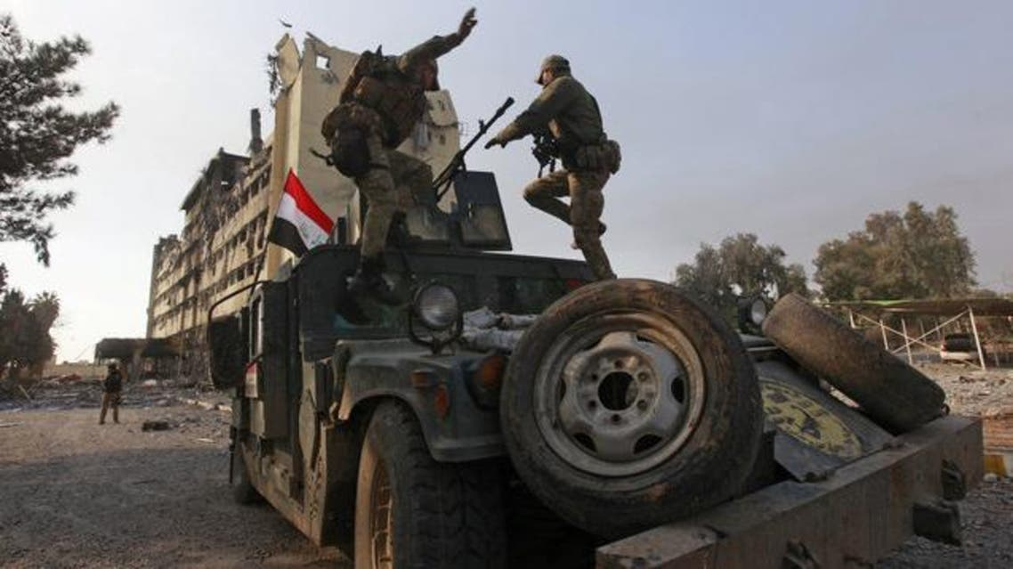 قوات عراقية في شرق الموصل