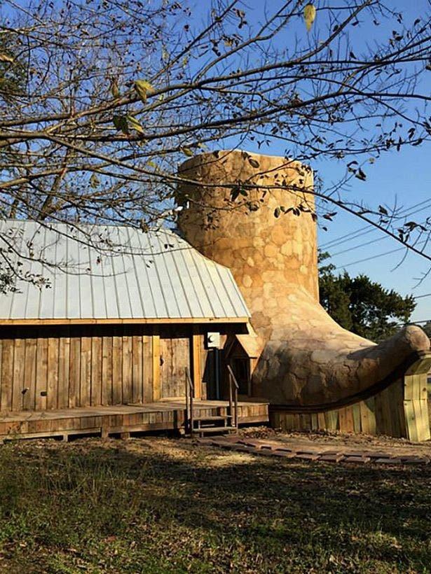 منزل على شكل حذاء رعاة البقر
