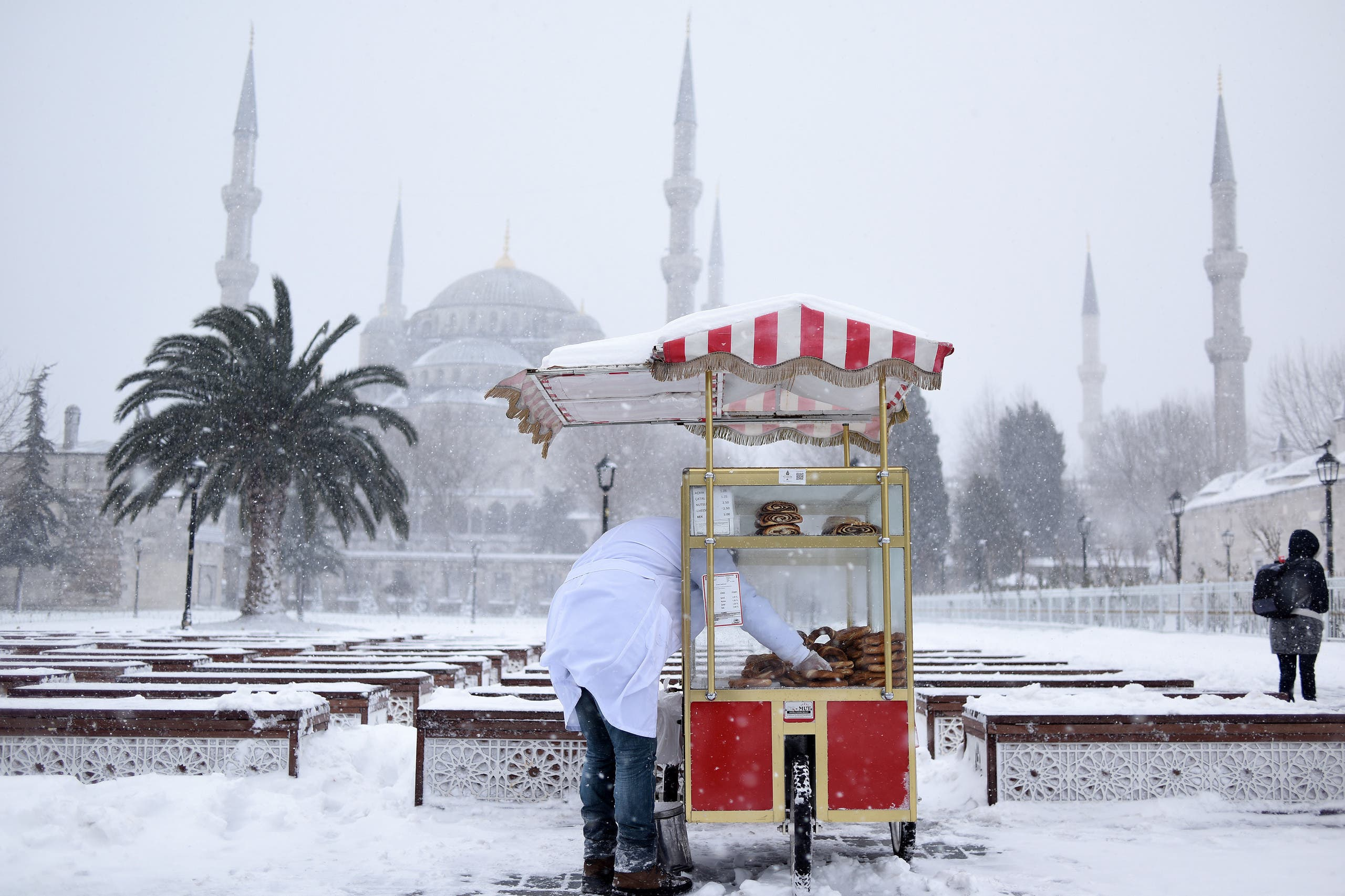 Snow blankets parts of the world