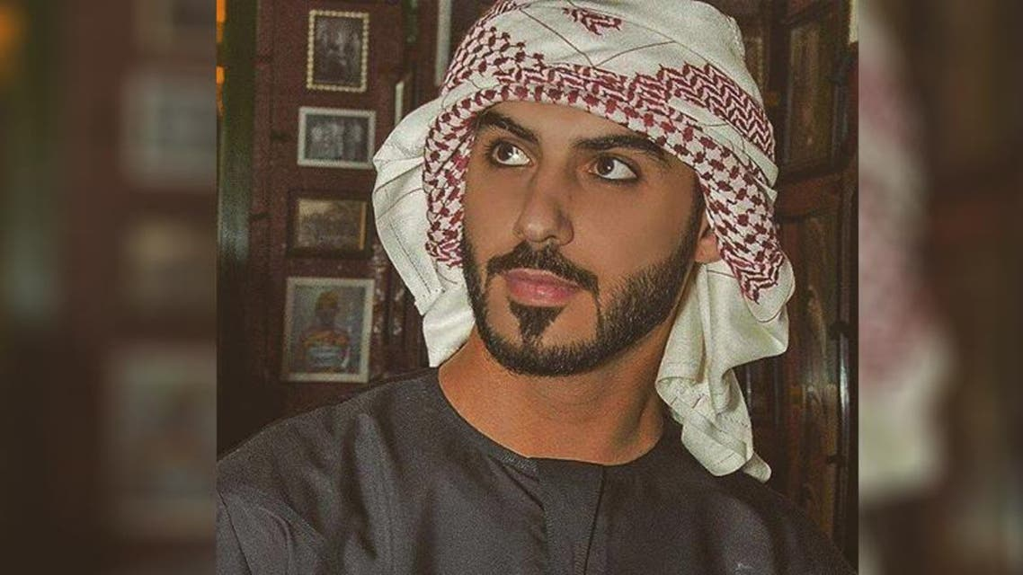 """Omar Borkan Al Gala became known in 2015 as being """"too handsome for Saudi Arabia"""" amid reports that he was kicked out of the kingdom. (Photo from Omar Borkan Al Gala's Facebook account)"""