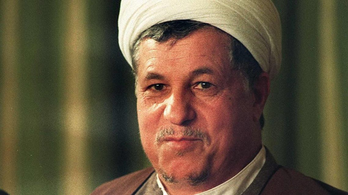 A photo taken 23 October 1989 shows Iranian President Ali Akbar Hachemi-Rafsandjani in his first year in office as President (Photo: Christophe Simon / AFP)