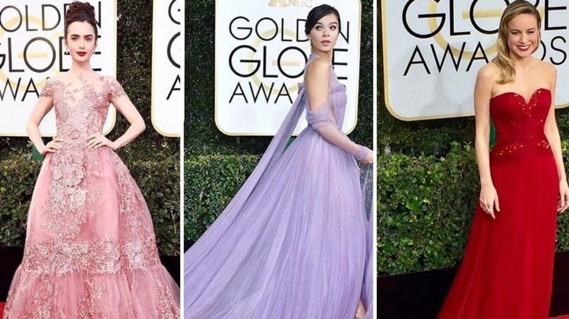 Designers featuring on the red carpet at the 2017 Golden Globe Awards included Elie Saab. (Instagram)