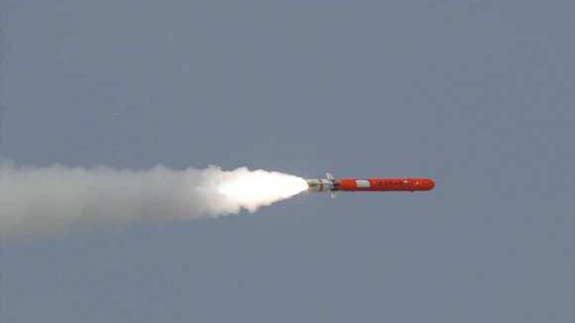 "صاروخ باكستاني من طراز ""بابر 2"""