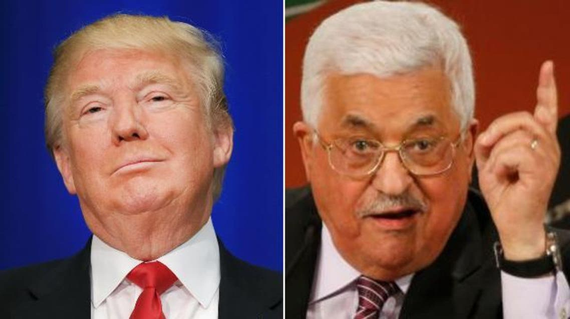 عباس و ترمب