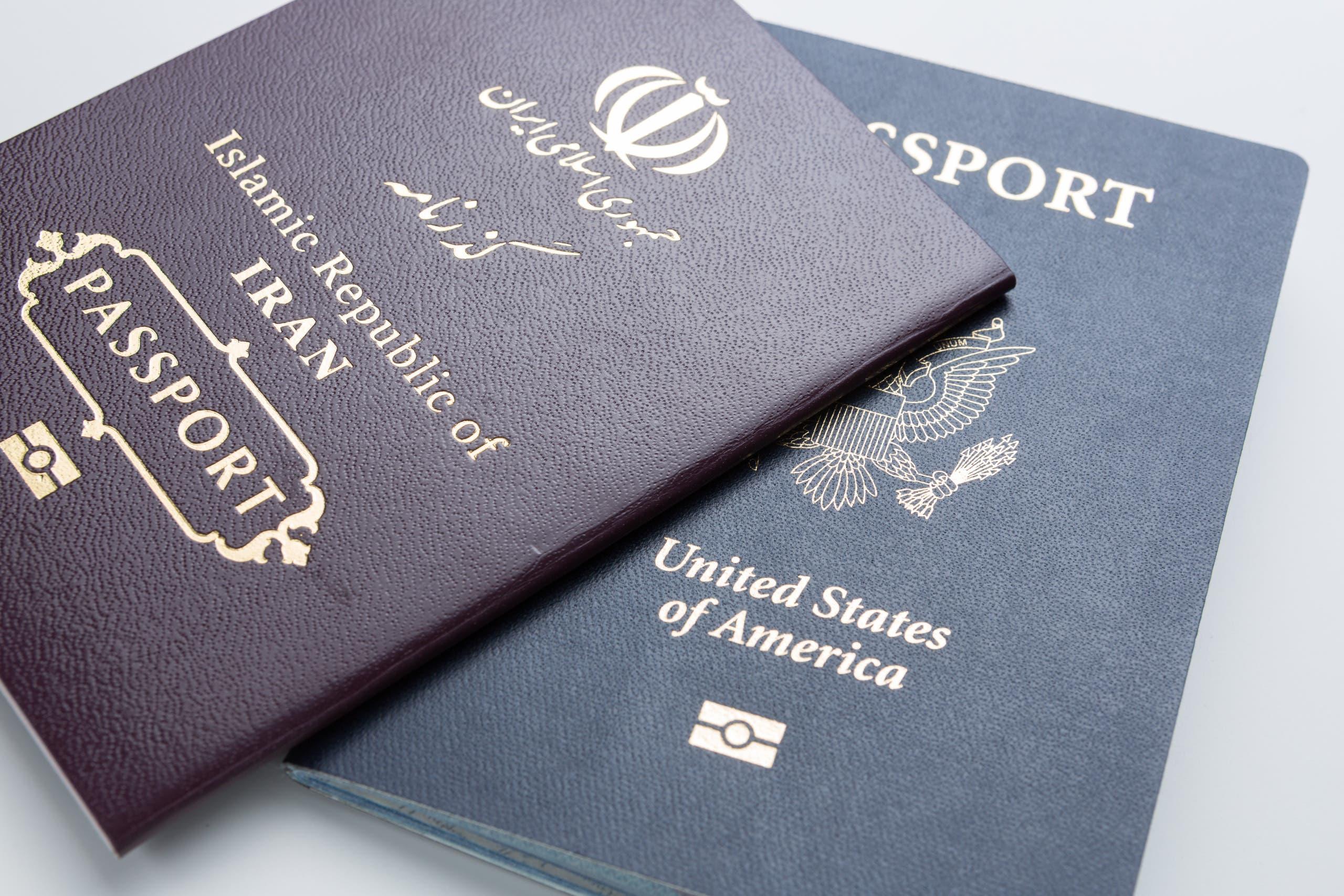 iran passport shutterstock
