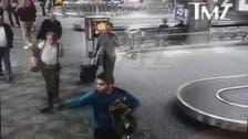 WATCH: Florida airport gunman's first shots fired
