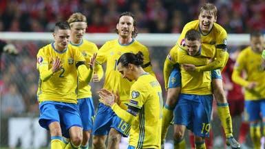 مدرب السويد يرحب بعودة إبراهيموفيتش إلى المنتخب