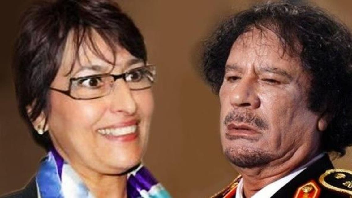 She said that she had never met Qaddafi when he proposed and that he had only seen her on television. (Al Arabiya)