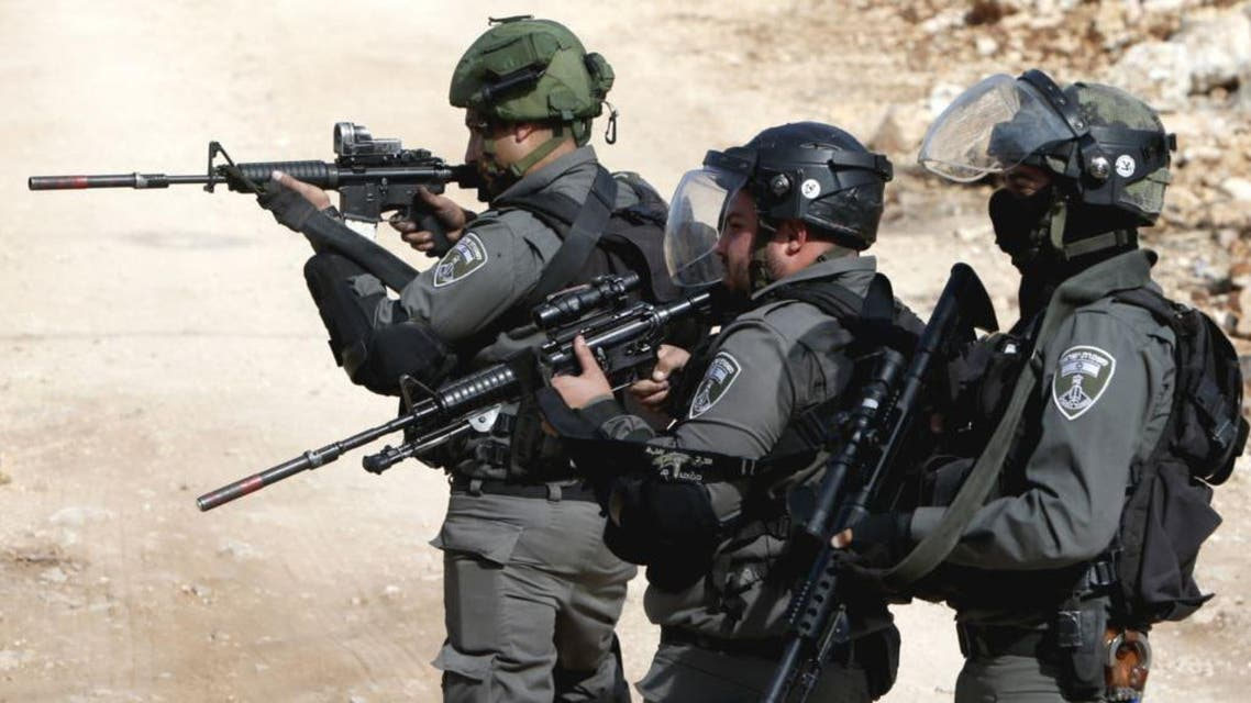 No soldiers were injured in the incident at Al-Fara Palestinian refugee camp, northeast of the city of Nablus. (File photo: AFP)