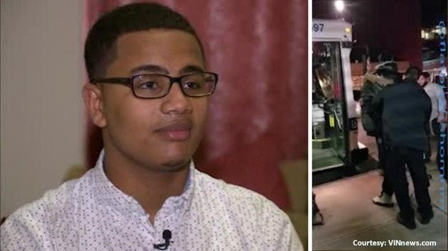 نتيجة بحث الصور عن مراهق مسلم تحول الى بطل في نيويورك