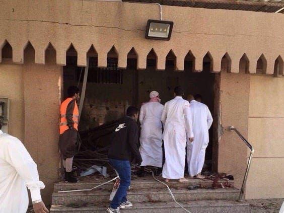 عمليات ارهابية طالت مساجد في السعودية