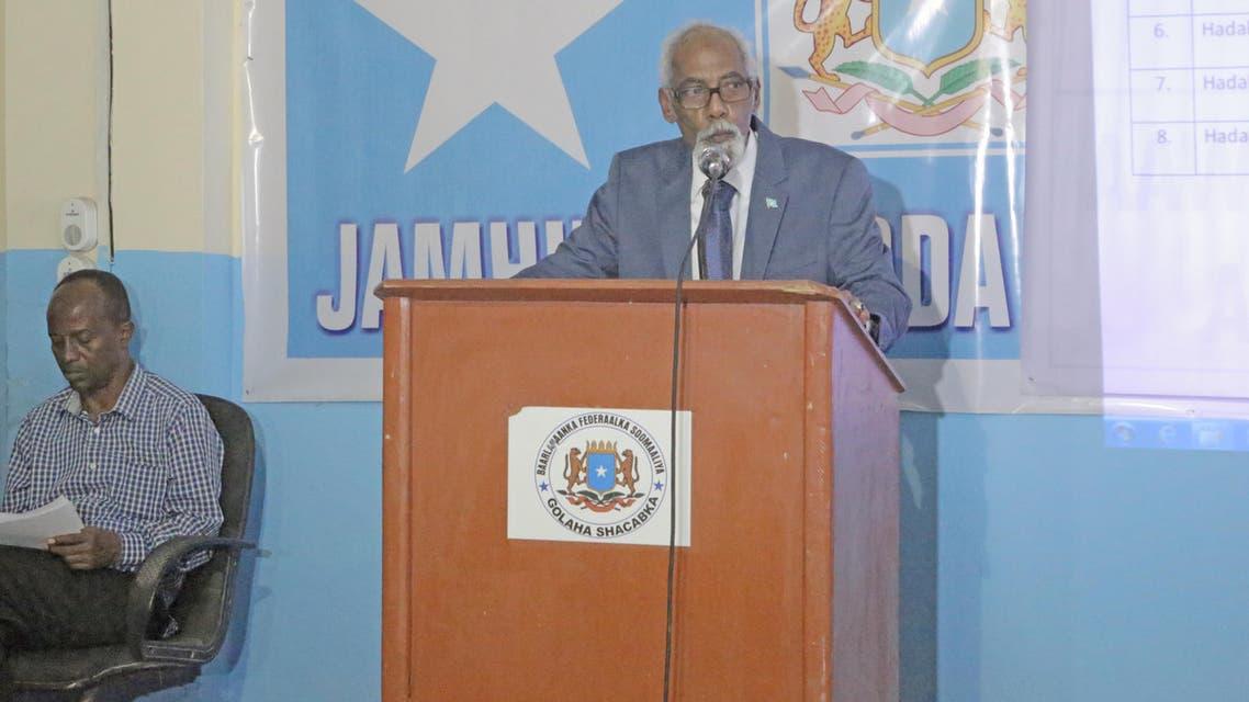 رئيس البرلمان الصومالي عثمان جواري