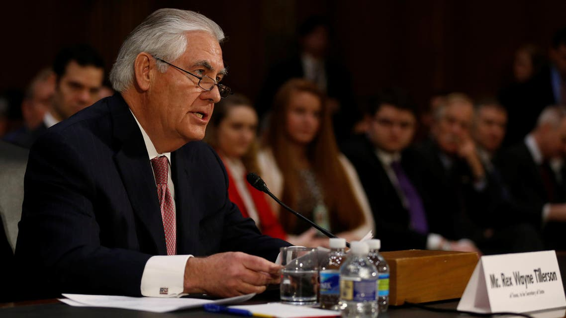 Rex Tillerson, the former chairman and chief executive officer of Exxon Mobil, testifies before a Senate Foreign Relations Committee confirmation hearing on his nomination to be U.S. secretary of state in Washington, U.S. January 11, 2017