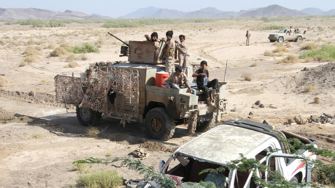 Operation targeted strongholds of Houthi militias and forces loyal to ousted Yemeni president Ali Abdullah Saleh. (AFP)