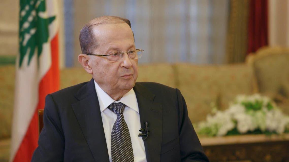 THUMBNAIL_ الرئيس اللبناني ميشال عون مع تركي الدخيل