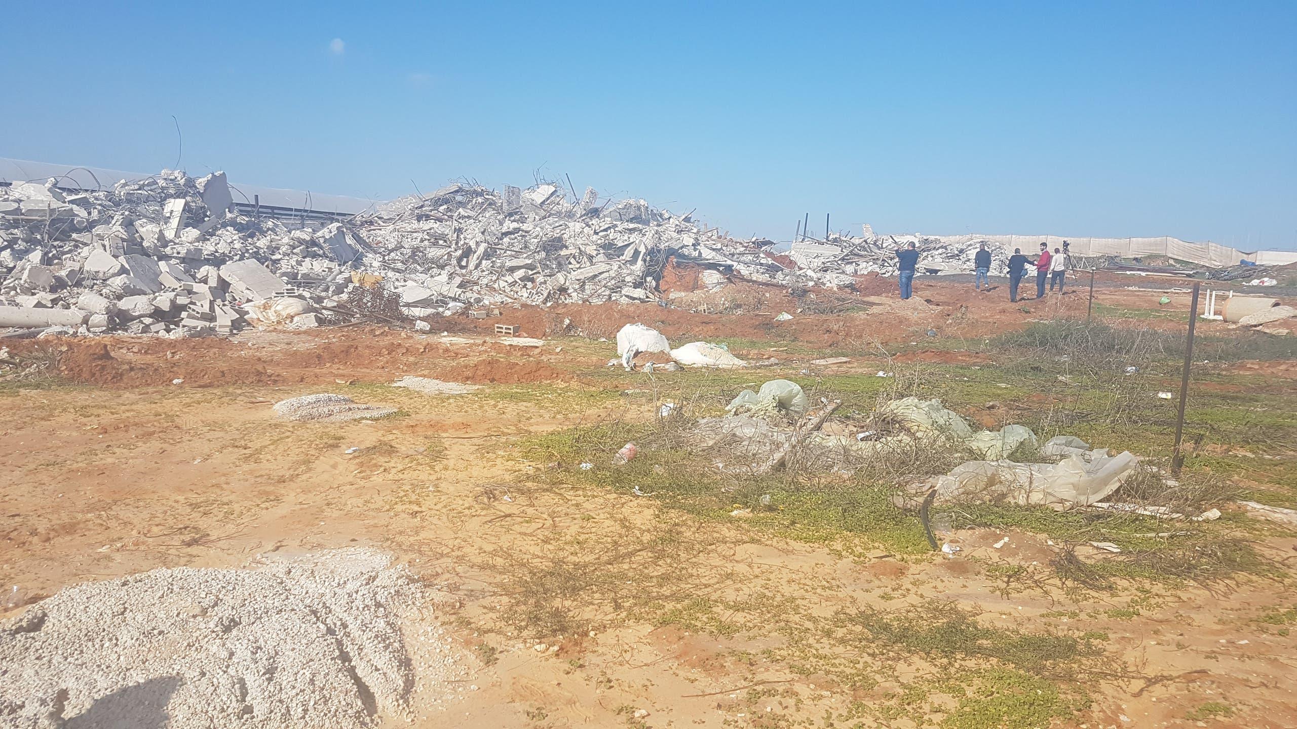 إسرائيل تواصل عمليات هدم المنازل داخل الخط الأخضر وفي القدس