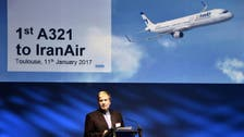 Iran on first Airbus plane in decades: 'A great day'