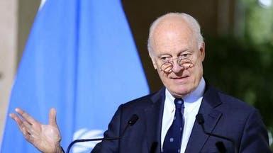 دي ميستورا: الهدنة صامدة في سوريا وسط استثناءات