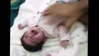 فيديو لتعذيب طفلة رضيعة بوحشية.. والمتهم والدها