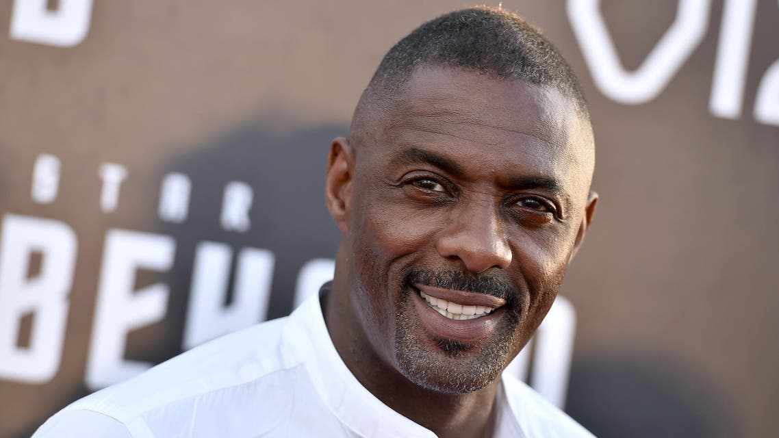 """Idris Elba arrives at the world premiere of """"Star Trek Beyond"""" at the Embarcadero Marina Park South on Wednesday, July 20, 2016, in San Diego. (AP)"""