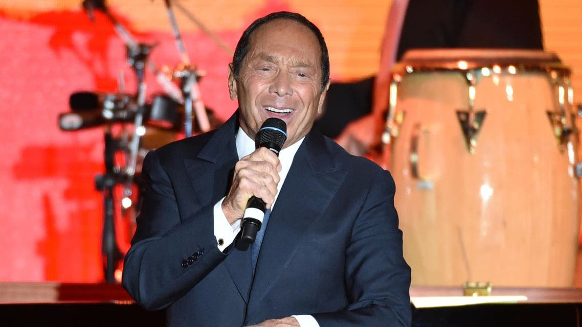 Paul Anka performs on stage at American Friends of Magen David Adom's Red Star Ball held at The Beverly Hilton on Thursday, Oct. 23, 2014, in Beverly Hills, Calif. ap