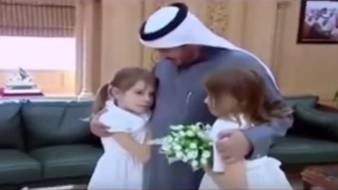 The girls were separated when they were 14 months old in 2005 by a medical team led by Dr. Abdullah Al-Rabeeah. (Screengrab)