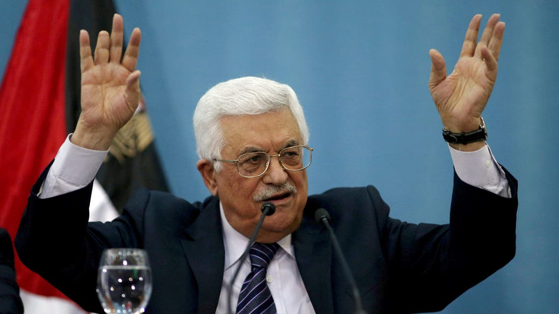 "if Donald Trump moves the US embassy to Jerusalem, President Abbas may consider ""reversing recognition"". (Reuters)"
