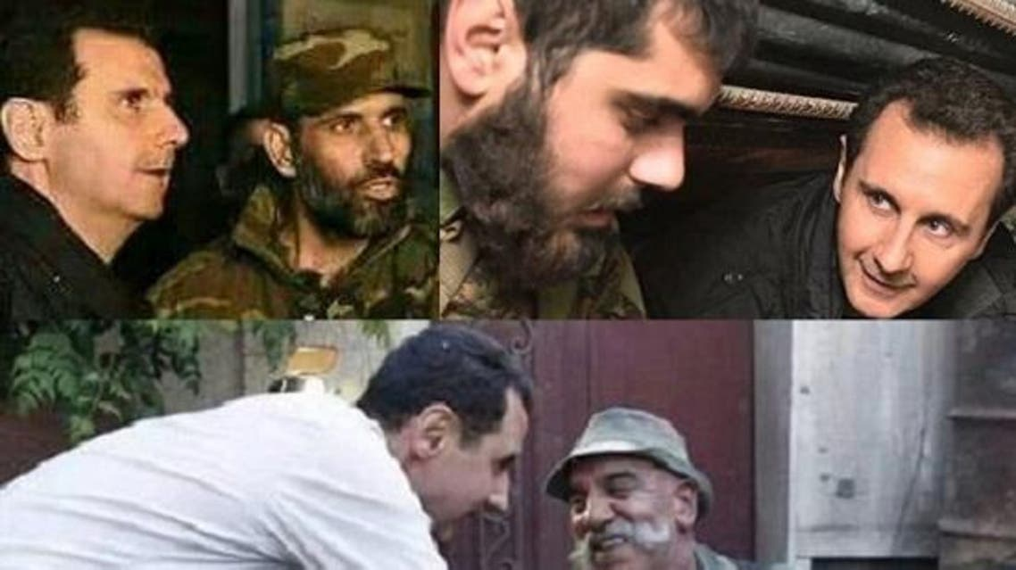 لعنة الأسد تلاحق جنوده الذين يظهرون معه في صورة