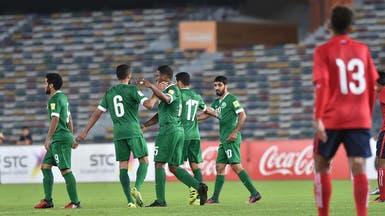 المنتخب السعودي يهزم كمبوديا بـ7 أهداف