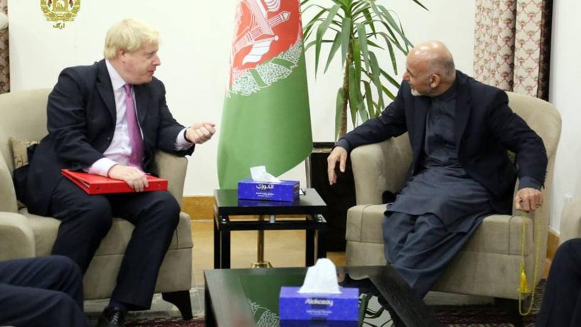 افغانستان و بریتانیا