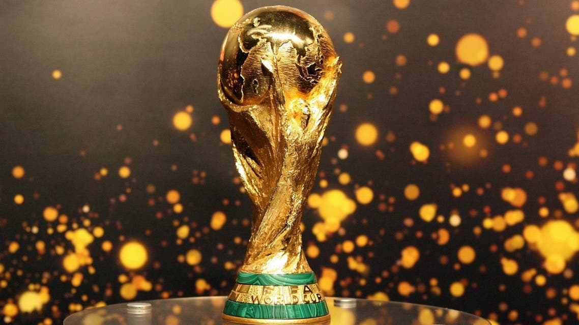 The FIFA World Cup trophy (File Photo: Barbara Sax/AFP)
