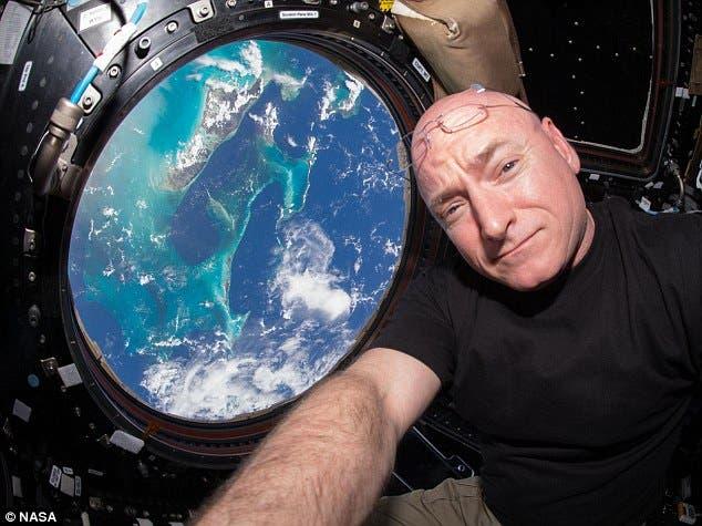رائد الفضاء سكوت كيلي