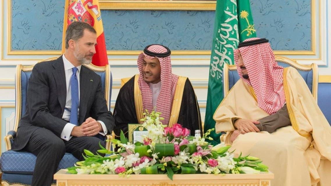 saudi and spain king