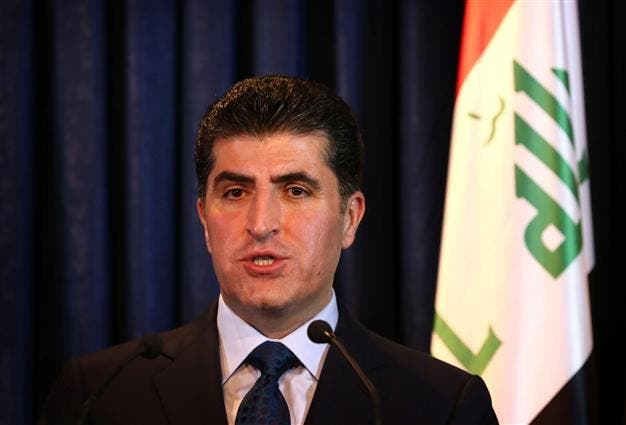 Nechervan Barzani, Prime Minister of the Kurdistan Regional Government of Iraqi Kurdistan. (File photo: AFP)