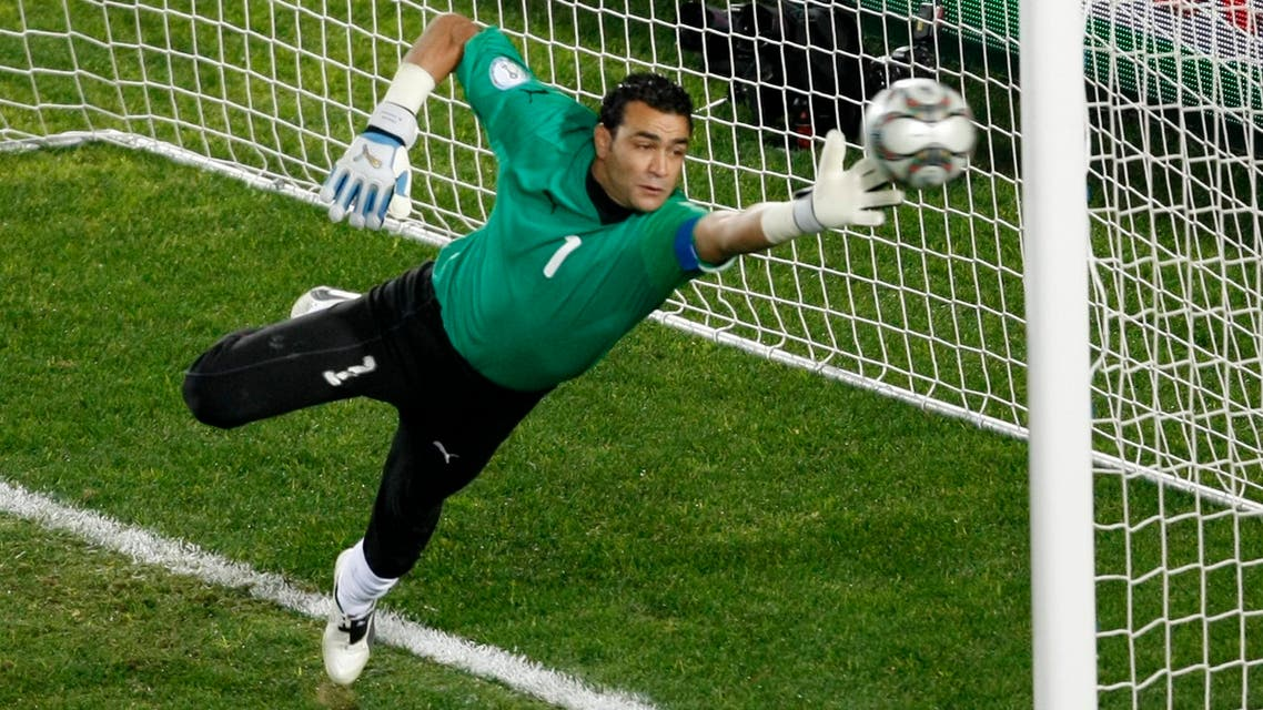 El Hadary will shatter the record set by compatriot Hossam Hassan in 2006, when the feisty striker was 39 years, five months and 24 days old. (Reuters)
