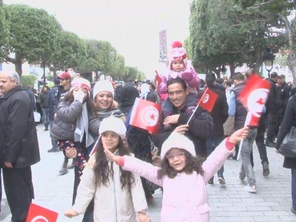 مصابو ثورة تونس يطالبون بمحاسبة من أطلقوا عليهم النار