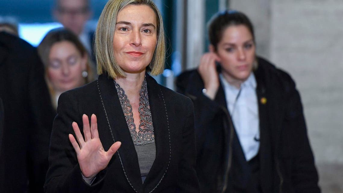 A file photo of the EU's foreign policy chief Federica Mogherini (File Photo: Philippe Desmazes/AFP)